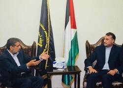 سيستمر النضال حتى رفع علم فلسطين  والمقاومة