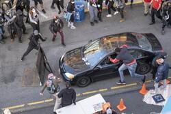 حمله با خودرو به معترضان در شهر سیاتل آمریکا