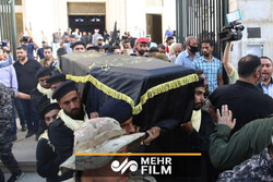 VIDEO: Funeral procession of Palestine's Shallah held in Damascus