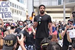 سخنرانی ضدتبعیض بازیگر سیاهپوست هالیوود/ اجازه دهید ما روایت کنیم