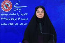 الصحة الايرانية تسجل 2095 اصابة جديدة بكورونا و74 حالة وفاة