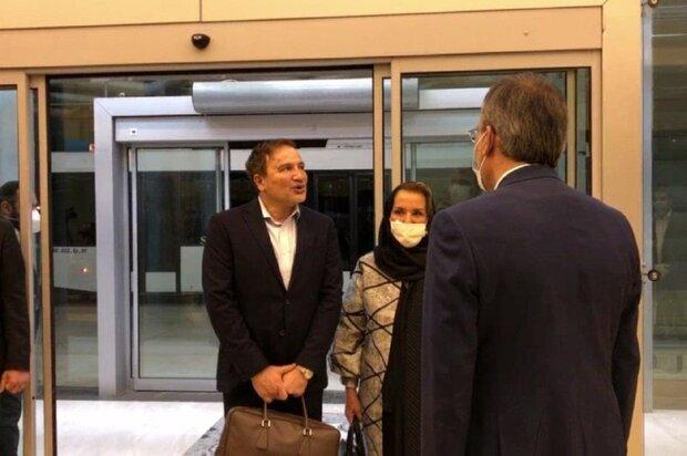 ایرانی ڈاکٹر مجید طاہری امریکہ سے آزاد ہونے کے بعد وطن واپس پہنچ گئے