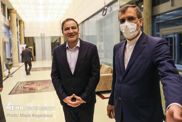 بازگشت مجید طاهری پزشک ایرانی آزاد شده از امریکا