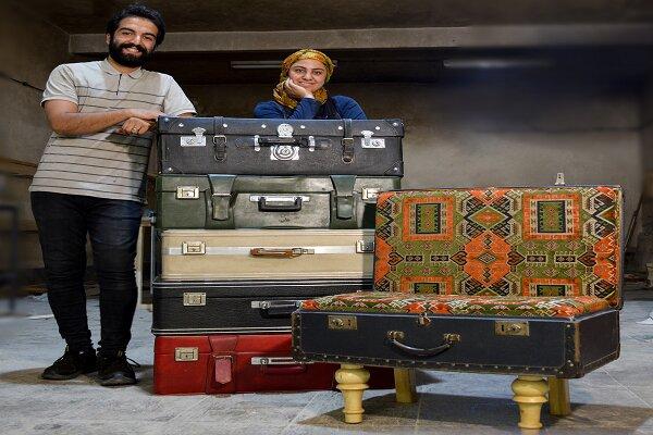 نوستالژی خاطره و رنگ با چمدان مادر بزرگ!