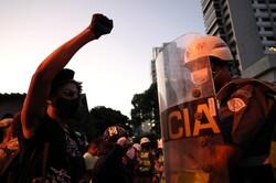 برازیل میں ہزاروں افراد نے سڑکوں پر احتجاج کیا