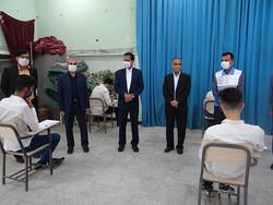 پروتکل های بهداشتی در برگزاری امتحانات نهایی در دشتی رعایت شود
