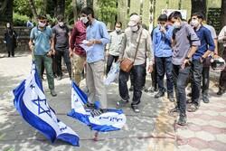 Tahran'da Ermenistan'a karşı protesto gösterisi yapıldı