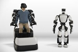 التحكم بالروبوت الانساني باستخدام شبكة انترنت 5G