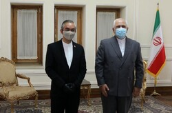 FM Zarif bids farewell to outgoing Indonesian envoy