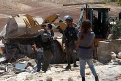 İsrail Kudüs'te 8 çocuklu Filistinli aileyi evsiz bıraktı