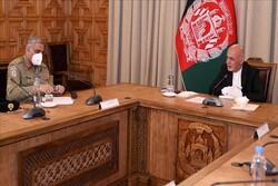 رئیس ستاد ارتش پاکستان با اشرفغنی دیدار کرد
