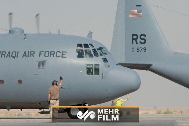 Irak'ta Amerikan askeri uçağı kaza geçirdi