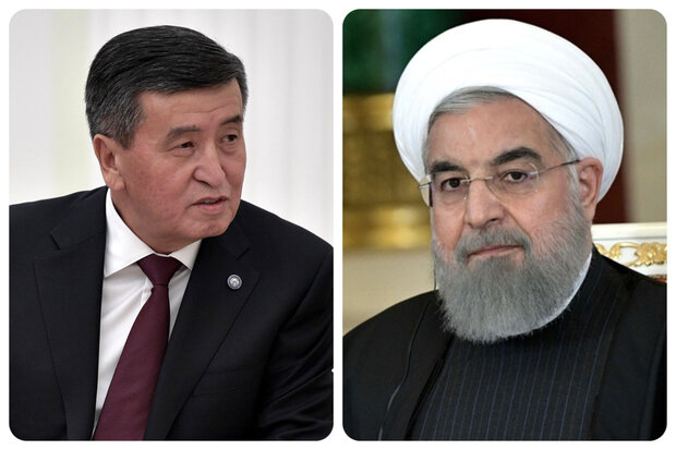 Rouhani stresses expansion of economic coop. with Kyrgyzstan