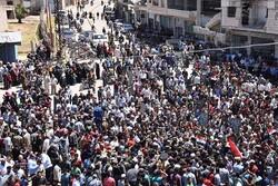 تقلای ائتلاف آمریکا برای کاهش اعتراضات سوری ها علیه «قسد»