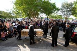 مراسم خاکسپاری جورج فلوید در آمریکا