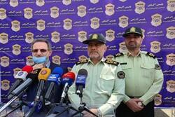 کشف قریب به ۲۵۰۰ فقره اقلام به سرقت رفته در طرح کاشف/ ۵۶ درصد دستگیرشدگان سابقهدار بودند