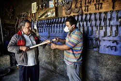 """""""Blacksmithing"""", a profession deep-rooted in Iranian history"""