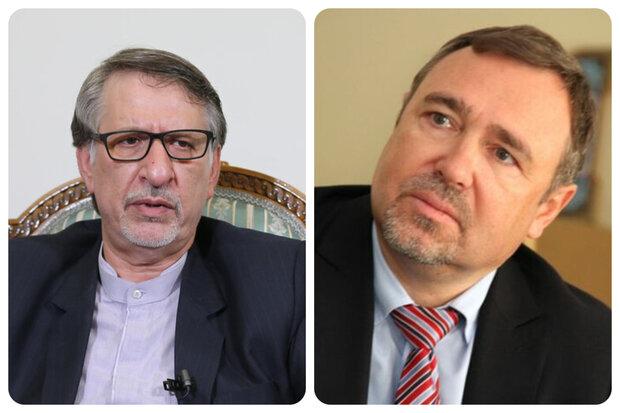 Iranian, Ukrainian diplomats discuss January plane incident