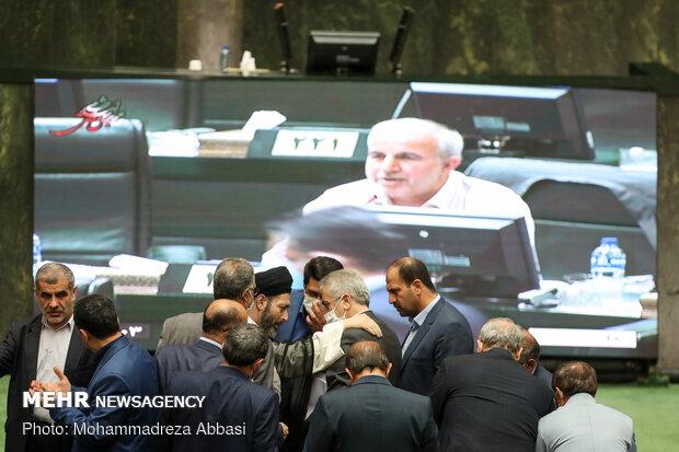 Iranian Parliament's open session on Jun. 10