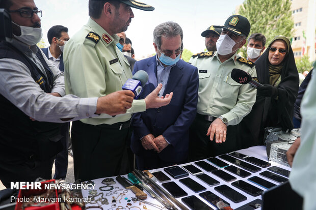 Discovery Plan of Tehran Police Criminal Investigation
