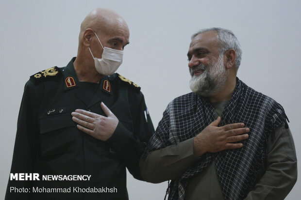 Farewell, introduction ceremony of Imam Hossein Cadet College chief