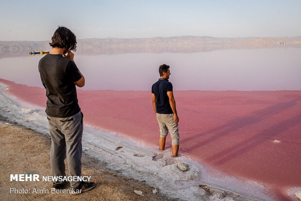 دریاچه مهارلو استان فارس