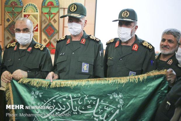 مراسم تکریم و معارفه فرمانده دانشگاه افسری امام حسین (ع)