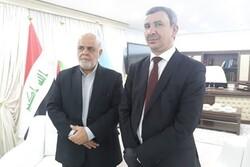 السفير الإيران في بغداد يلتقي وزير النفط العراقي الجديد