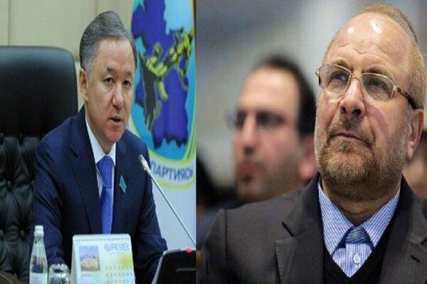 Kazakistan'dan İran'ın yeni meclis başkanına tebrik mesajı