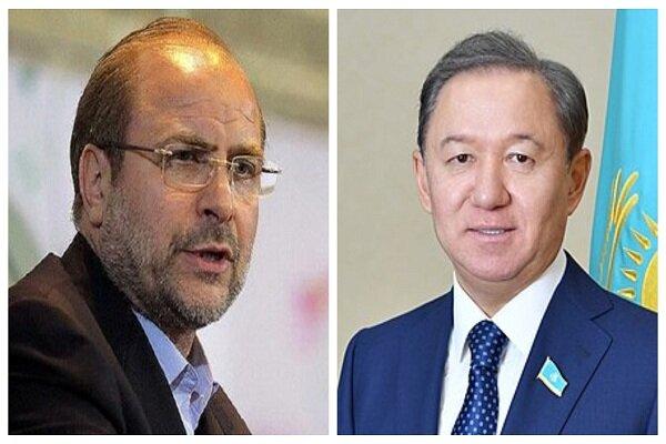 Kazakhstan congratulates Ghalibaf on election as new Parl. Speaker