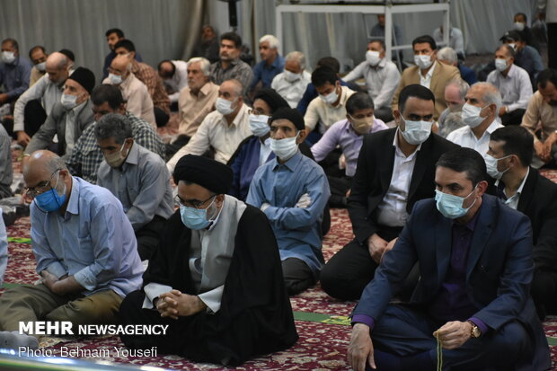 Friday Prayer in Arak after 110 days with health protocols in place