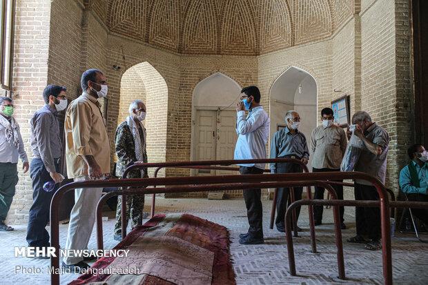 اقامه نماز عبادی سیاسی جمعه در یزد