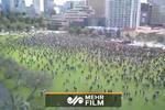 اعتراضات به نژادپرستی با رعایت فاصله اجتماعی در استرالیا