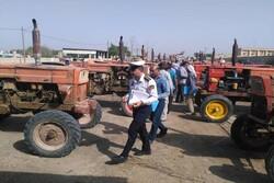 آغاز شماره گذاری وسایل نقلیه کشاورزی در استان ایلام
