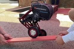 تولید ربات دوپا با قابلیت عبور از سطوح ناهموار