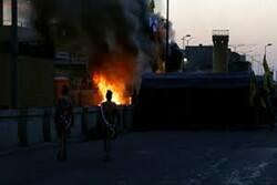 السفارة الأمريكية تتعرض للقصف الصاروخي