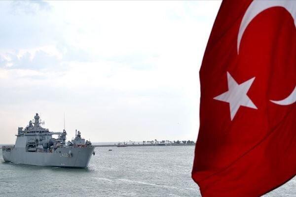 ترکیه در مدیترانه رزمایش برگزار کرد