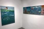 تماشای «روی بندرگاه» در چوم گالری/ نمایشگاه نقاشی برادران قاسمی در انزلی