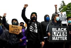 تظاهرات مردم آمریکا علیه نژادپرستی ادامه یافت