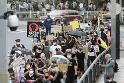 تظاهرات ضدتبعیضنژادی در توکیو برگزار شد