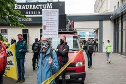 تظاهرات ضدنژادپرستی در برلین و ۱۰ شهر دیگر آلمان برگزار شد