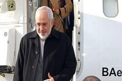 FM Zarif lands in Turkey for bilateral talks