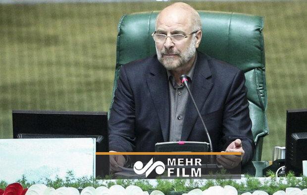 گفتگوی زنده تلویزیونی رئیس مجلس شورای اسلامی