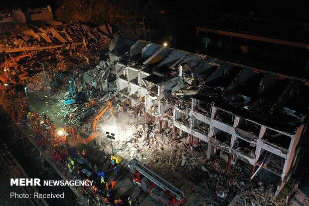 انفجار تانکر سوخت در چین با ۱۹ کشته