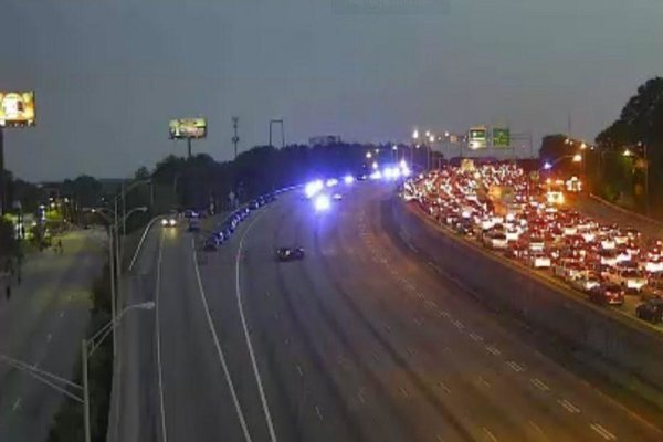 VIDEO: Protesters shut down highway in Atlanta over death of Rayshard Brooks