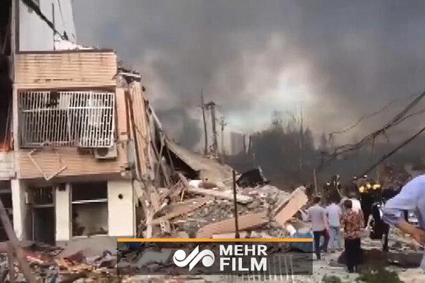 چین میں گیس سے  بھرے ٹینکر میں دھماکے سے 19 افراد ہلاک