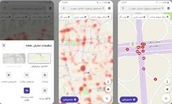 نقاط پرتصادف تهران به مسیریاب «بلد» اضافه شد