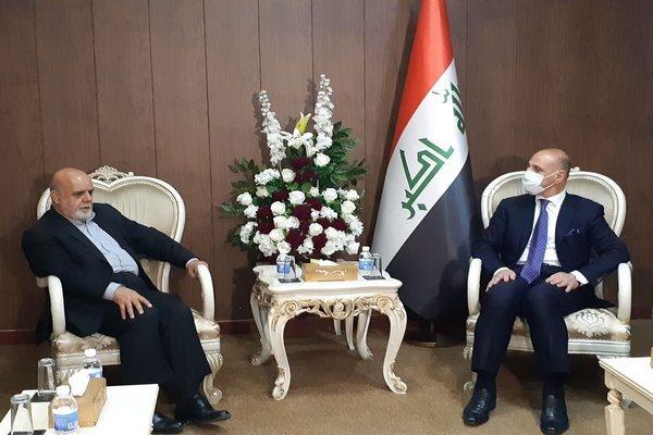 Iran, Iraq discuss expansion of sport coop.