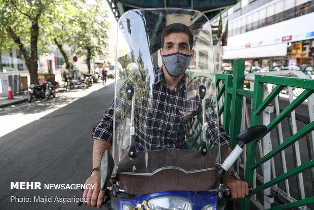 استفاده از ماسک برای جلوگیری از انتقال ویروس کرونا