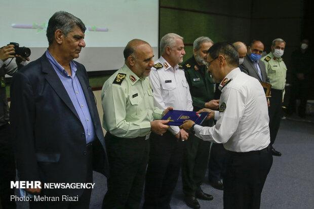 مراسم تکریم و معارفه رئیس پلیس راهور تهران بزرگ